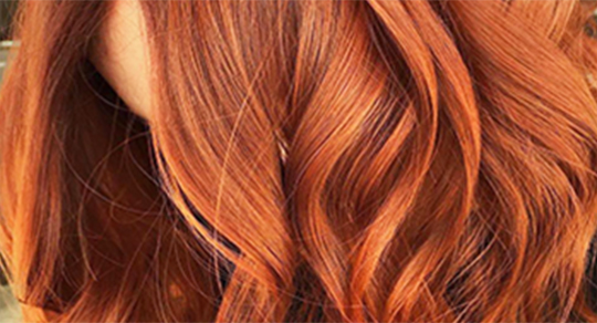 full head colour red