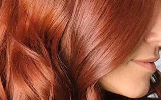 free glossing hair service red hair